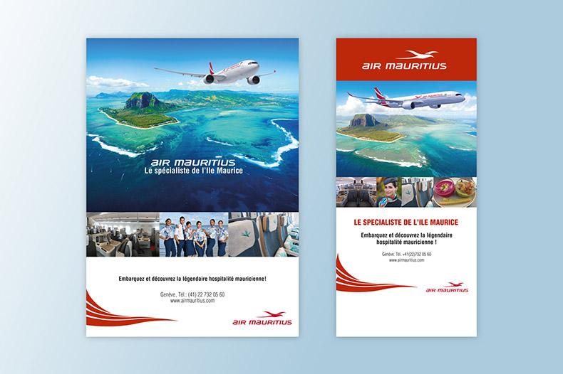 Divers publications Air Mauritius
