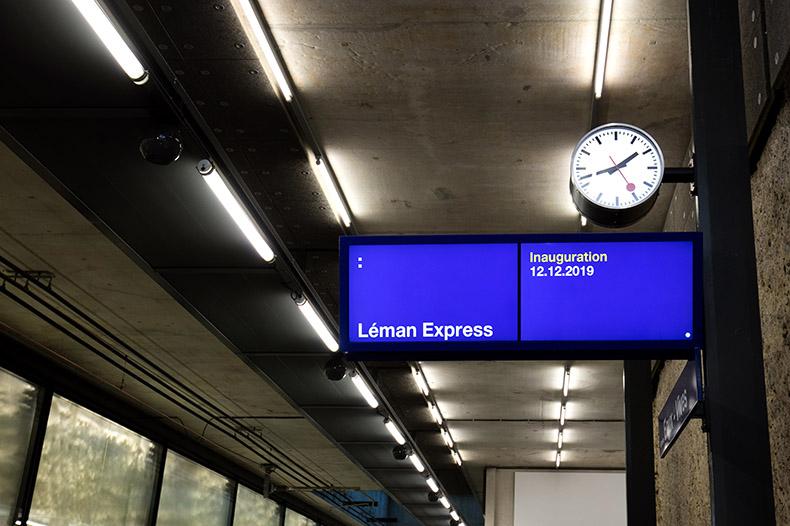 Détail de la Gare des Eaux-Vives