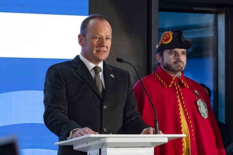 Discours de Monsieur Serge Dal Busco à l'inauguration du Léman Express
